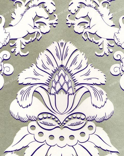 Английские обои Osborne & Little,  коллекция Matthew Williamson - Eden Wallpapers, артикулW6540-03