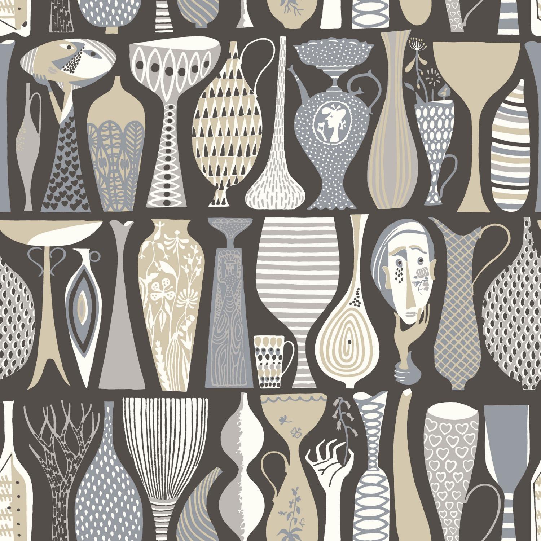 Шведские обои Borastapeter,  коллекция Scandinavian Designers II, артикул1758