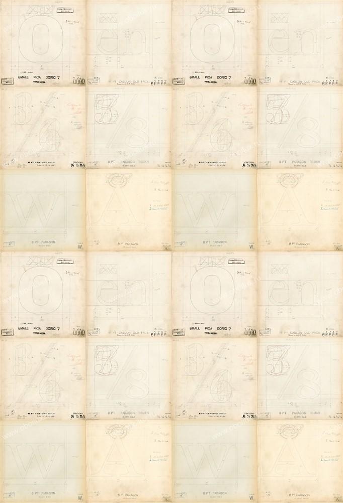 Английские обои Linwood,  коллекция Ephemera, артикулLW38-1