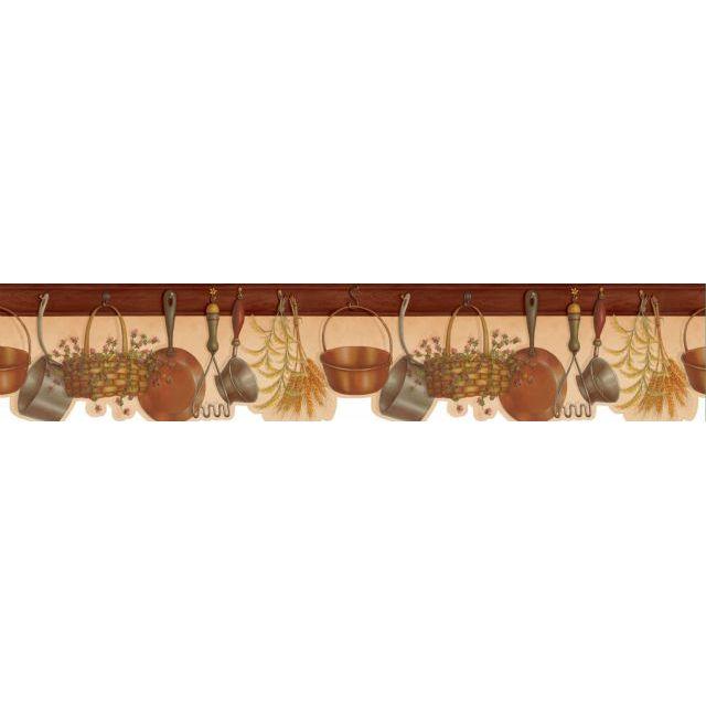 Американские обои Chesapeake,  коллекция Kitchen & Bath Essentials, артикулKBE12543B