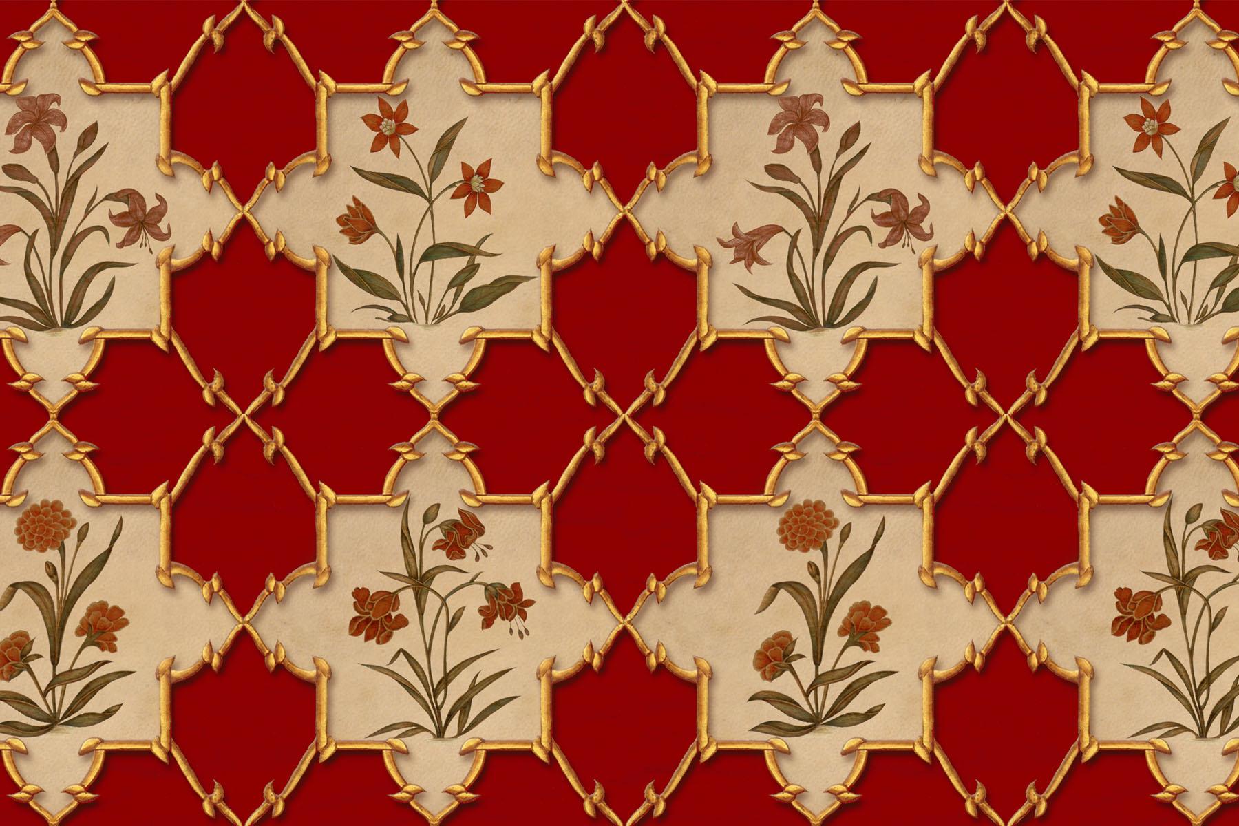 Английские обои Iksel,  коллекция Scenic & Architectural Wallpapers, артикулIndianCollectionRAJMATAJALI