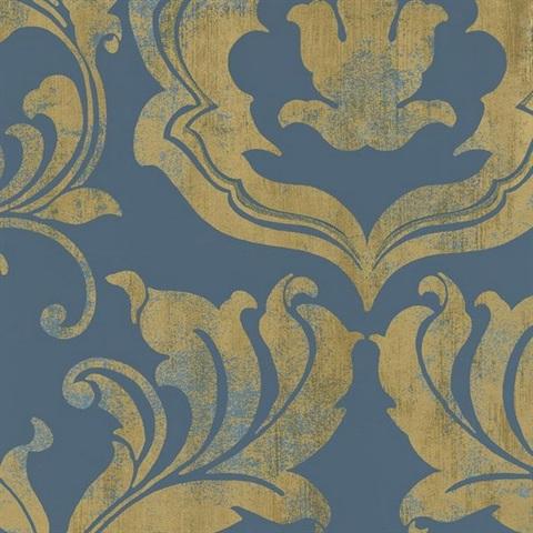 Американские обои York,  коллекция Gold Leaf, артикулGF0705