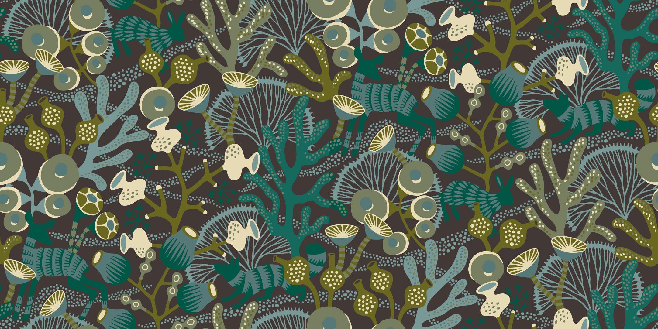 Шведские обои Borastapeter,  коллекция Wonderland by Hanna Werning, артикул1460