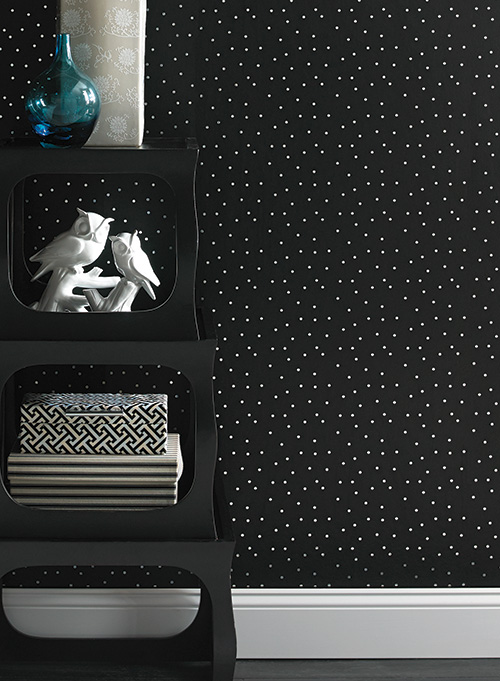 Американские обои York,  коллекция Ashford House - Black and White, артикулAB2162