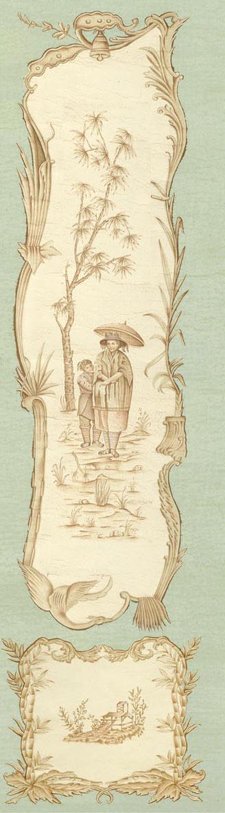 Английские обои Iksel,  коллекция Scenic & Architectural Wallpapers, артикулChinoiserieCHINOIS06