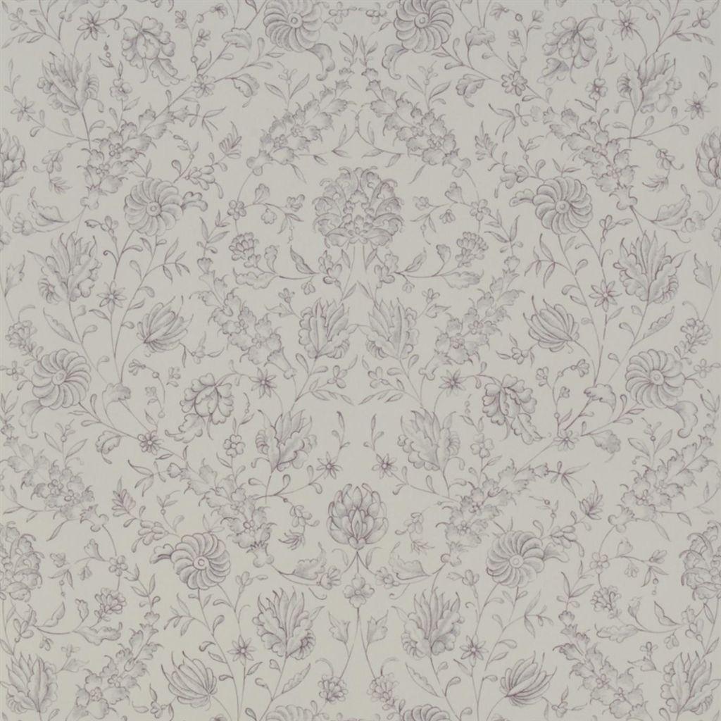 Английские обои Designers guild,  коллекция The Royal Collection - Rosa Chinensis, артикулPQ009/01