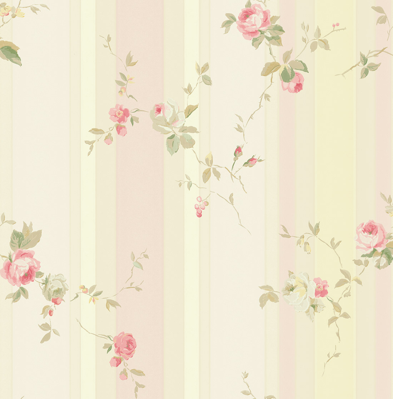 Американские обои Wallquest,  коллекция Watercolor Florals, артикулMF20811