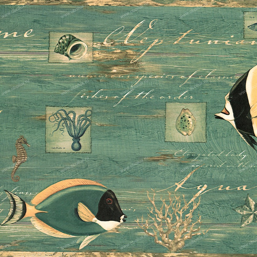 Американские обои Chesapeake,  коллекция Coastal Waters Volume II, артикулCT46062B