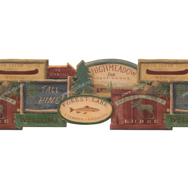 Американские обои York,  коллекция Border Portfolio, артикулWL5568B