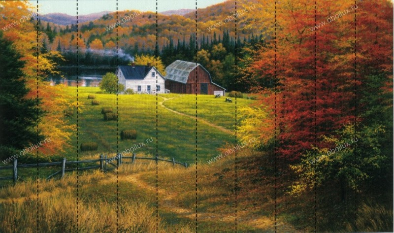 Канадские обои Aura,  коллекция Panorama, артикулRA0110MMP