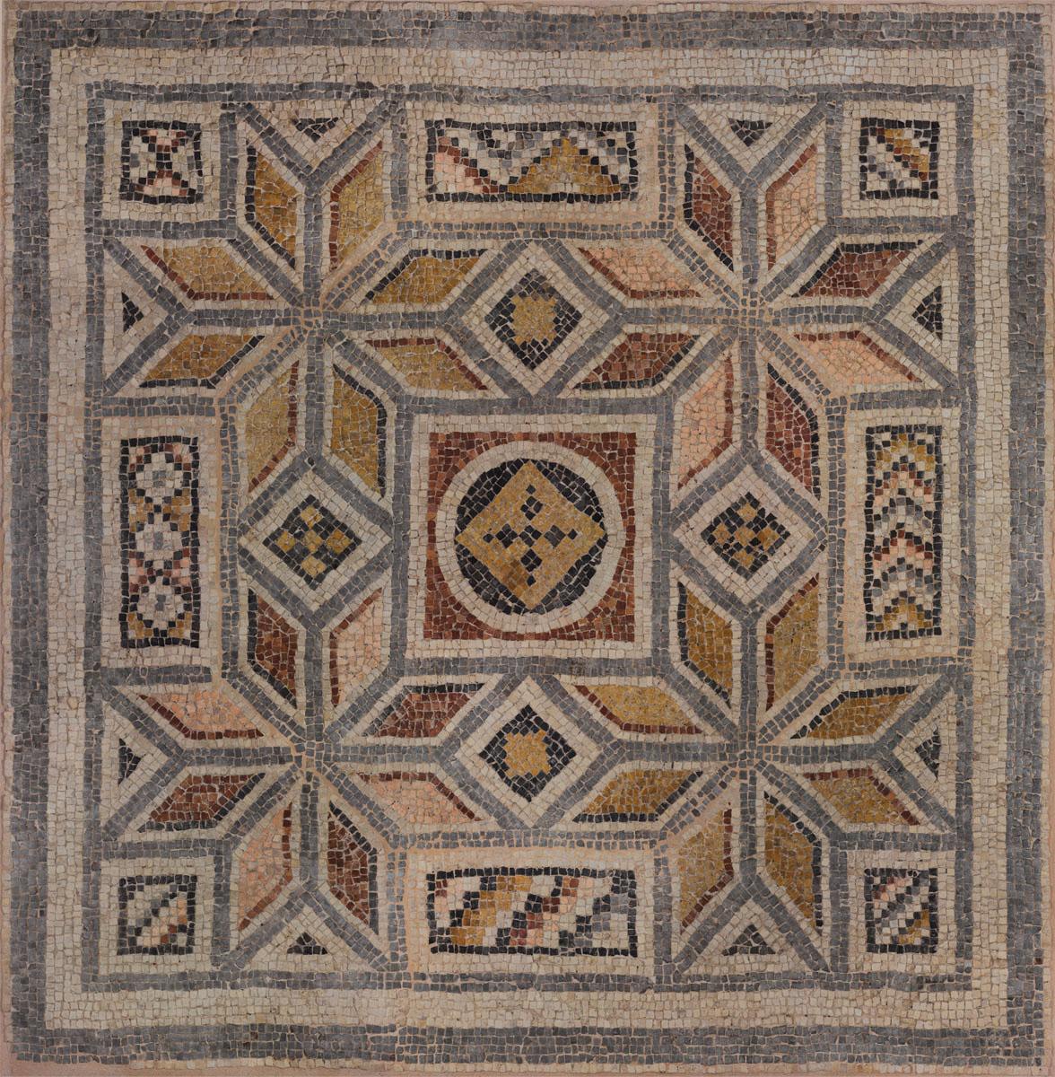 Английские обои Iksel,  коллекция Scenic & Architectural Wallpapers, артикулGeometricMosaicII