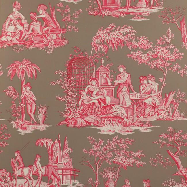 Французские обои Manuel Canovas,  коллекция Bellegarde, артикул03063-01