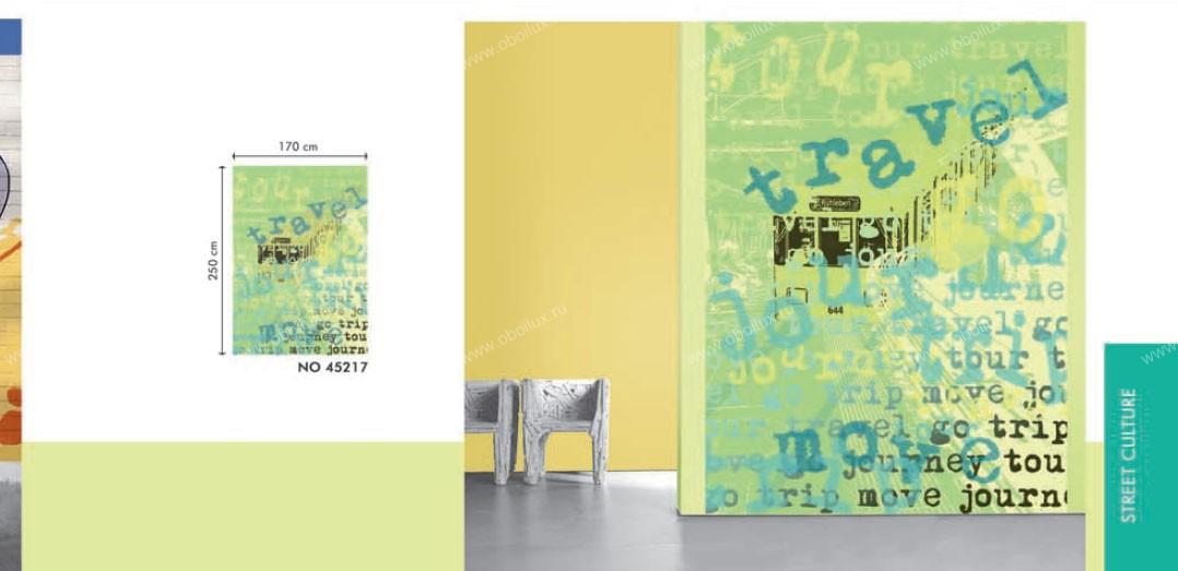 Немецкие обои Marburg,  коллекция Colour & life, артикул45217