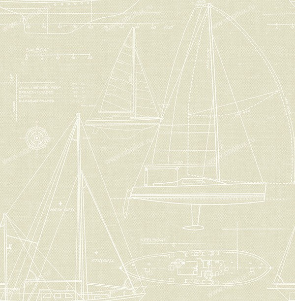 Американские обои Prospero,  коллекция Hudson, артикулCC51902