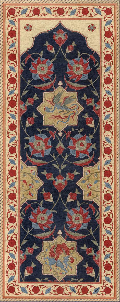 Английские обои Iksel,  коллекция Scenic & Architectural Wallpapers, артикулAleppoBlueALBL13