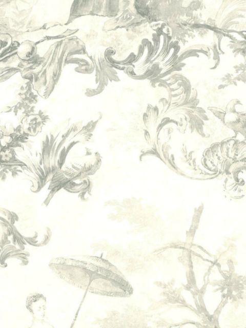 Американские обои Wallquest,  коллекция Sandpiper Studios - Versailles, артикулVS40300