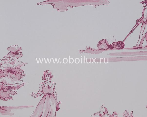 Английские обои Nina Campbell,  коллекция Perroquet, артикулNCW3837-04