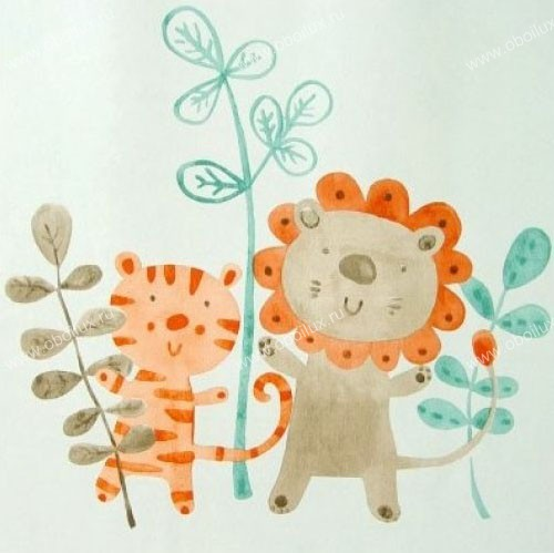 Французские обои Camengo,  коллекция The Little Friends, артикул553155