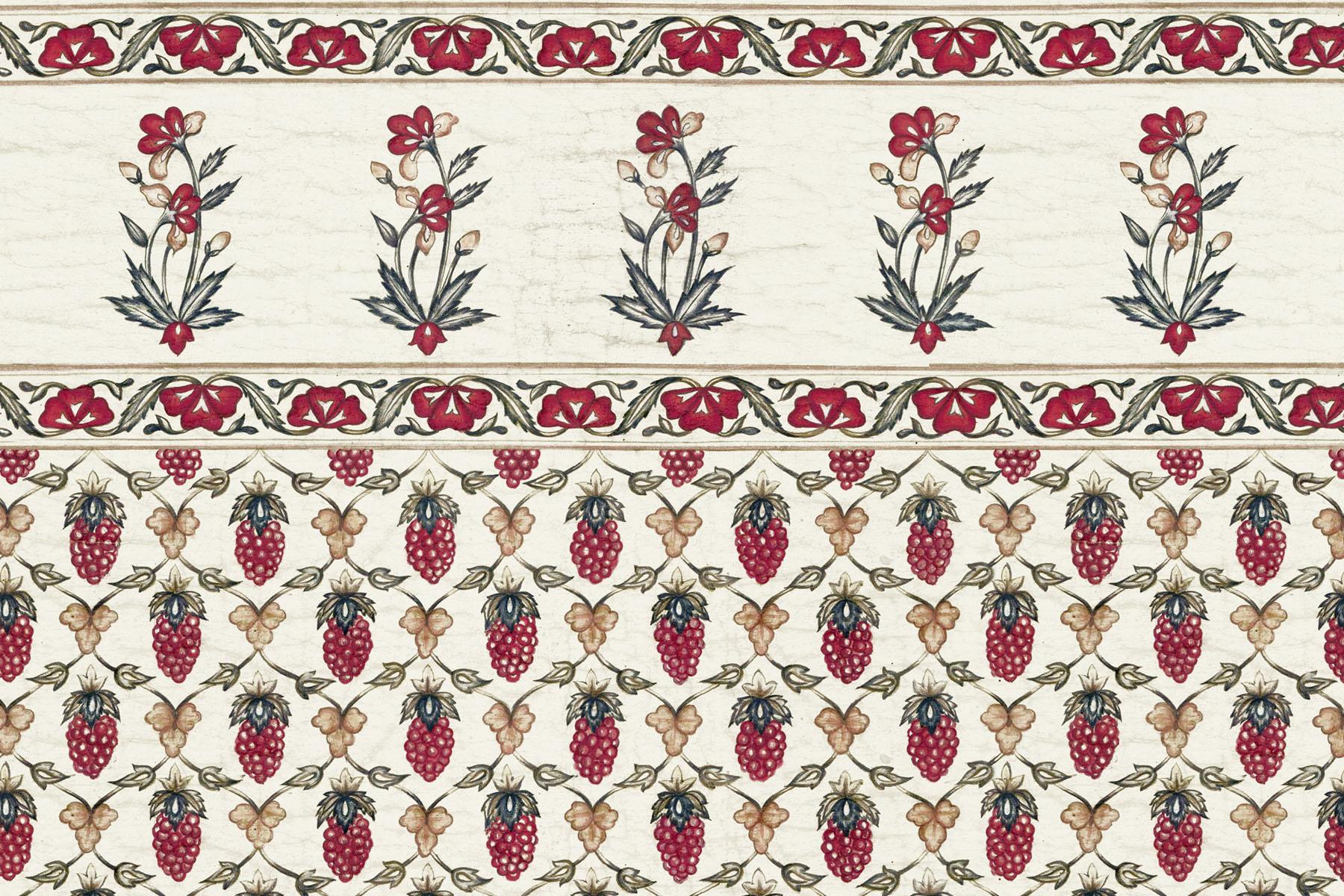 Английские обои Iksel,  коллекция Scenic & Architectural Wallpapers, артикулIndianCollectionMOGHULBERRY