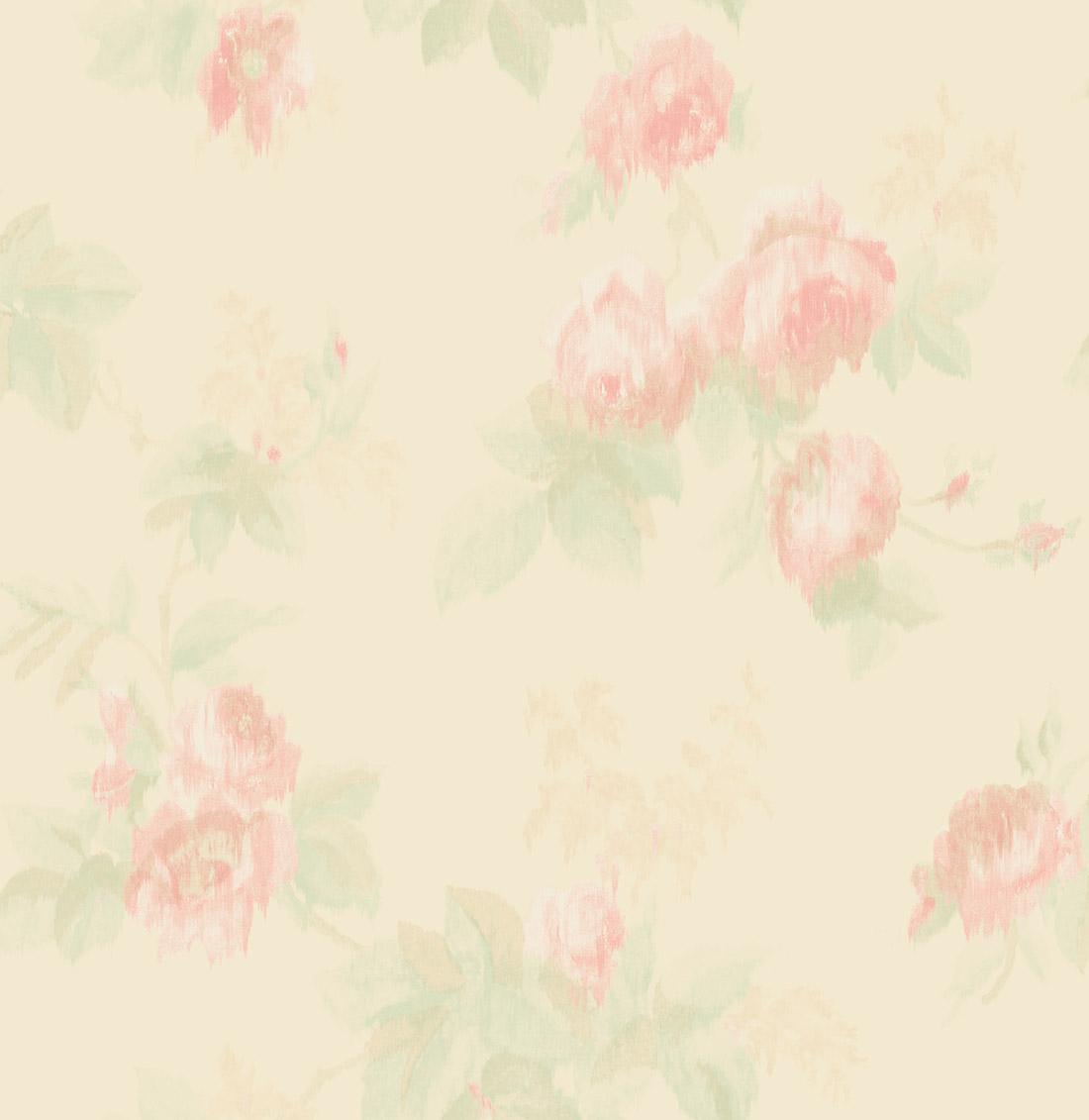 Американские обои Wallquest,  коллекция Watercolor Florals, артикулMF21201
