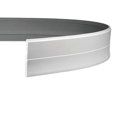 Плинтус гибкий из полиуретана 1.53.105F