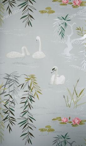 Английские обои Nina Campbell,  коллекция Wallpaper Album III, артикулNCW4020-01