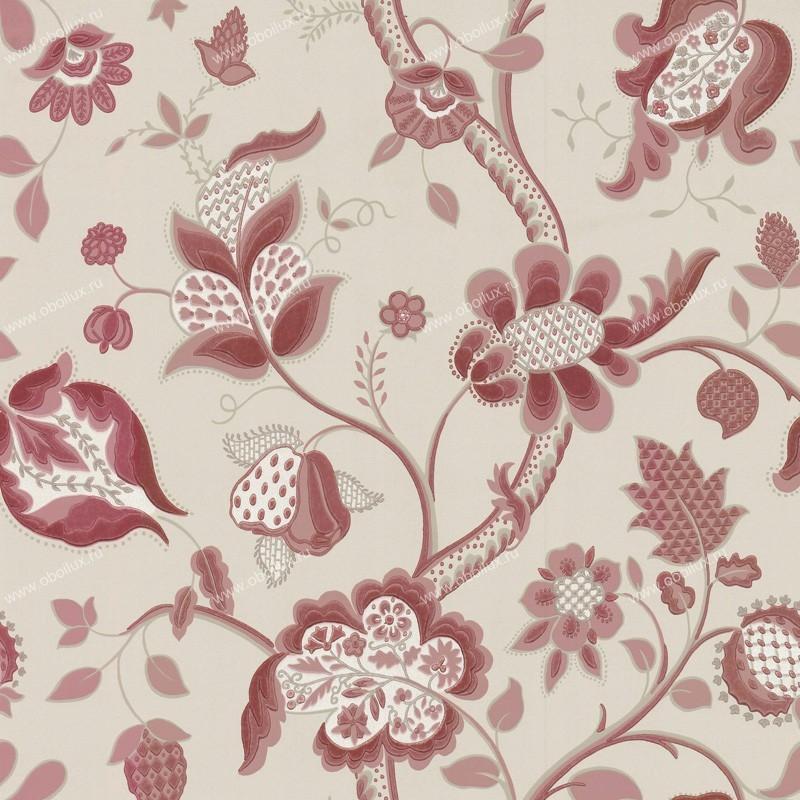 Английские обои Little Greene,  коллекция London Wallpapers III, артикул0282HGROUGE