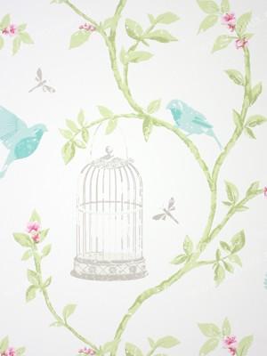 Английские обои Nina Campbell,  коллекция Birdcage Walk, артикулNCW3770/02