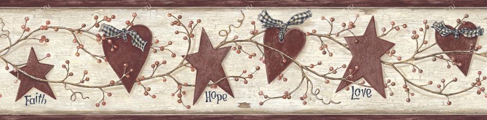 Американские обои Chesapeake,  коллекция Pure Country, артикулPUR44533B