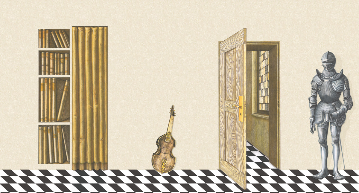 Английские обои Cole & Son,  коллекция Fornasetti II, артикул97/13041