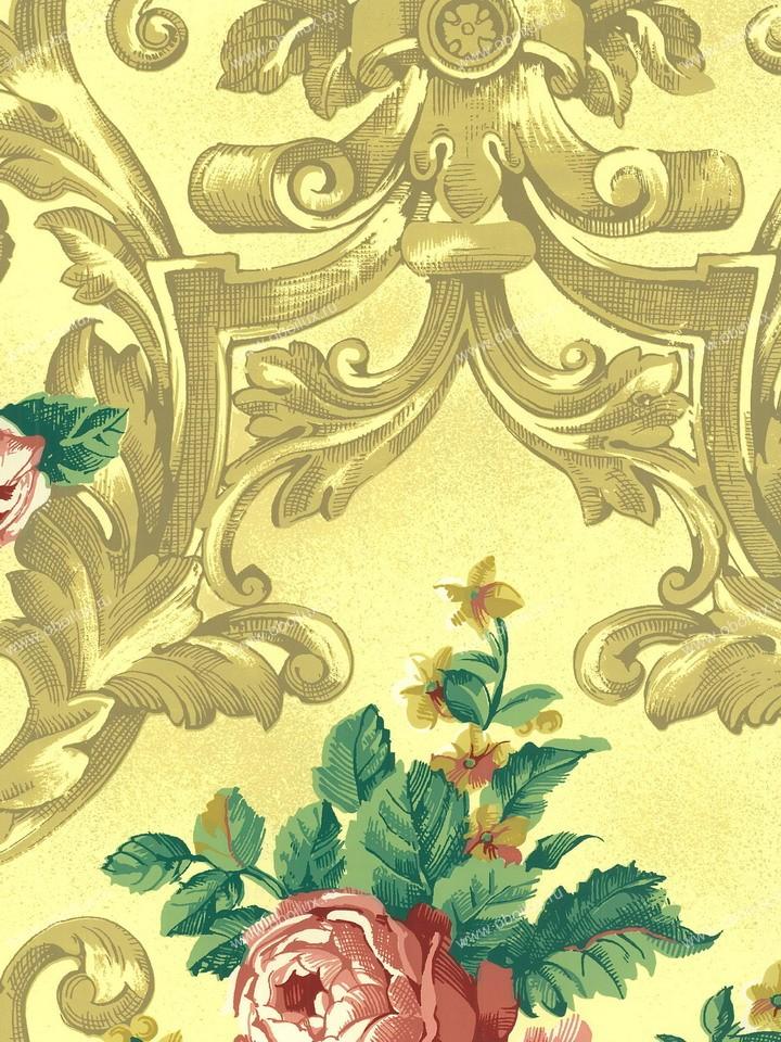 Американские обои Stroheim,  коллекция Color Gallery Amber, артикул8164E0110