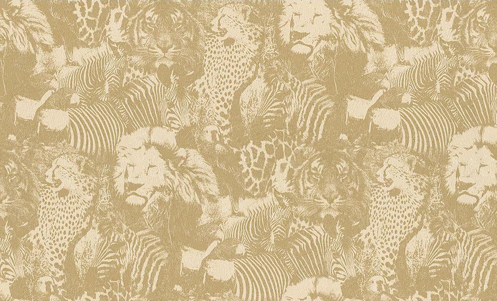 Немецкие обои A. S. Creation,  коллекция Jungle, артикул96243-4