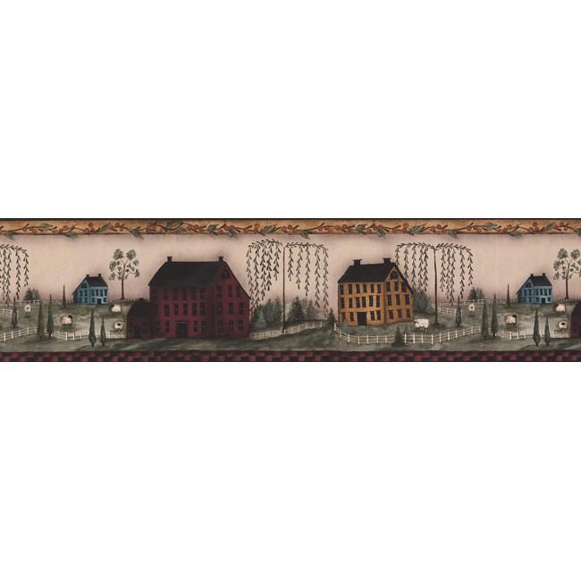 Американские обои York,  коллекция Hearts and Crafts III, артикулPV5348BCB