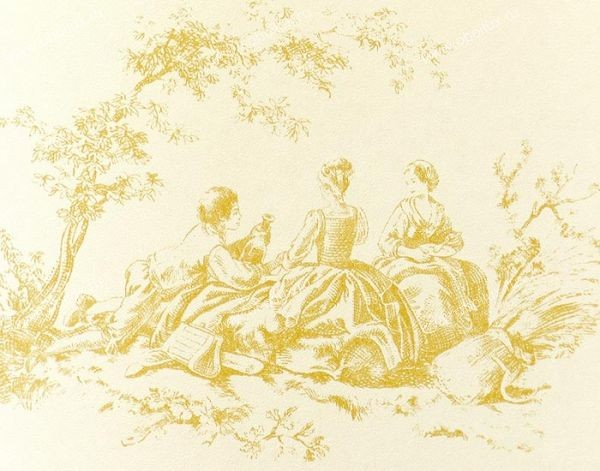 Французские обои Casadeco,  коллекция Amboise, артикулCBR15352123