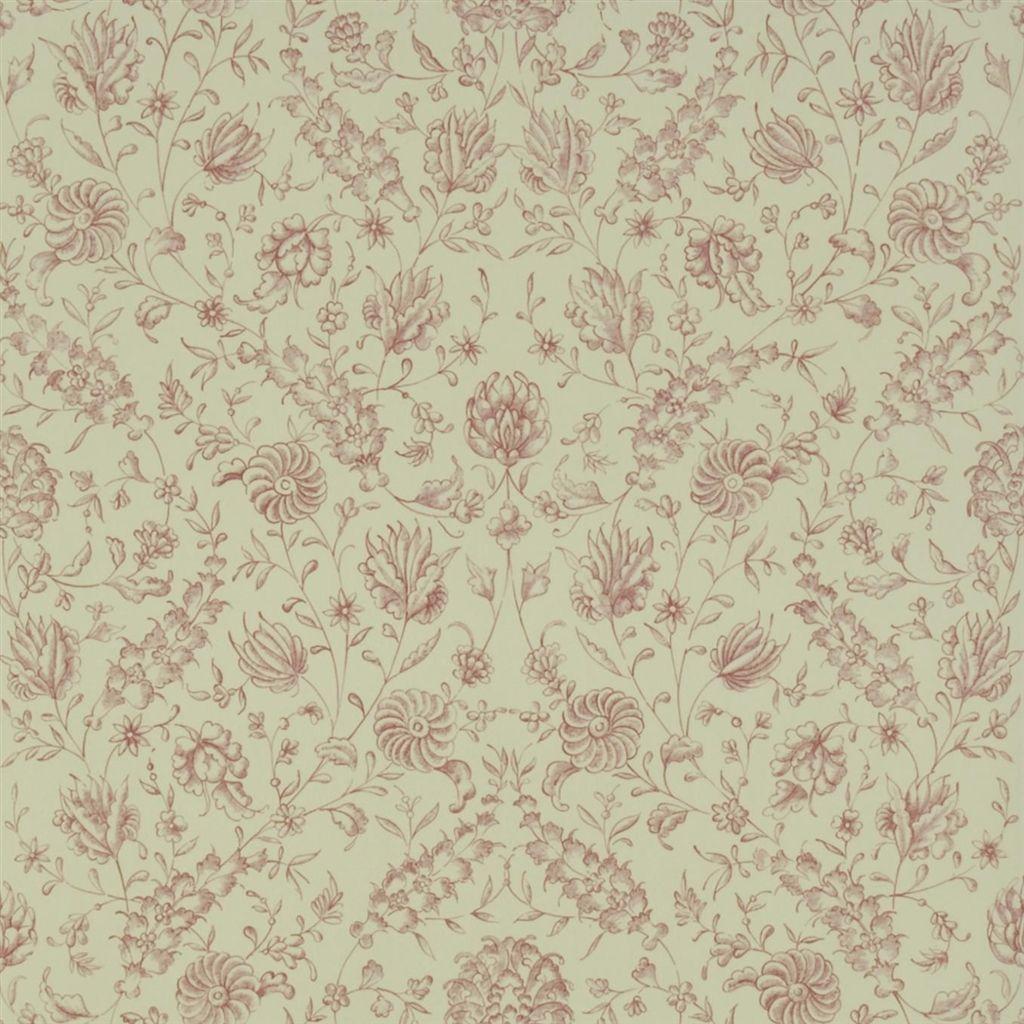 Английские обои Designers guild,  коллекция The Royal Collection - Rosa Chinensis, артикулPQ009/05