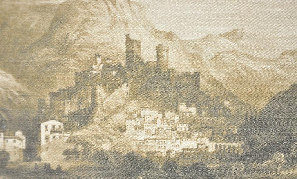 Итальянские обои Sangiorgio,  коллекция Acqueforti, артикулA/05