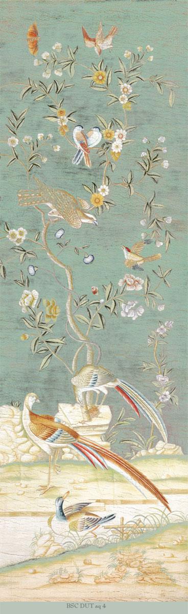 Английские обои Iksel,  коллекция Scenic & Architectural Wallpapers, артикулDutchTreeOfLefeBSCDUTaq4
