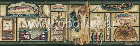 Канадские обои Blue Mountain,  коллекция New Arrivals, артикулBC1584111B