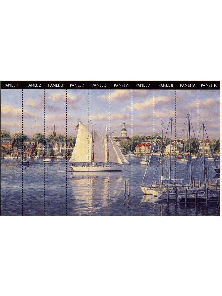 Американские обои York,  коллекция Mural Portfolio, артикулRA0143M