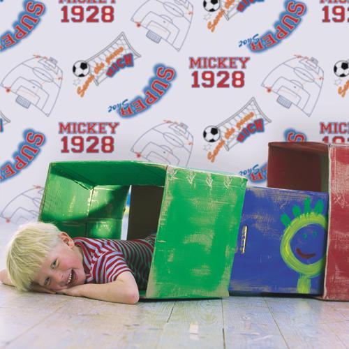 Английские обои Graham & Brown,  коллекция Kids@Home 3, артикул71999