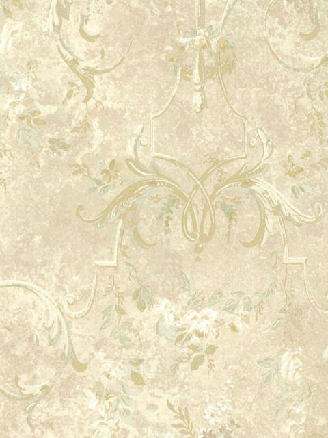 Американские обои Wallquest,  коллекция Sandpiper Studios - Versailles, артикулVS40001