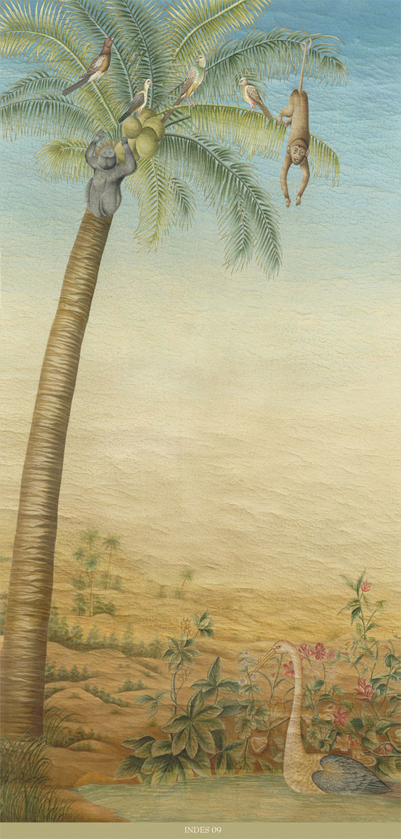 Английские обои Iksel,  коллекция Scenic & Architectural Wallpapers, артикулExoticaINDES09