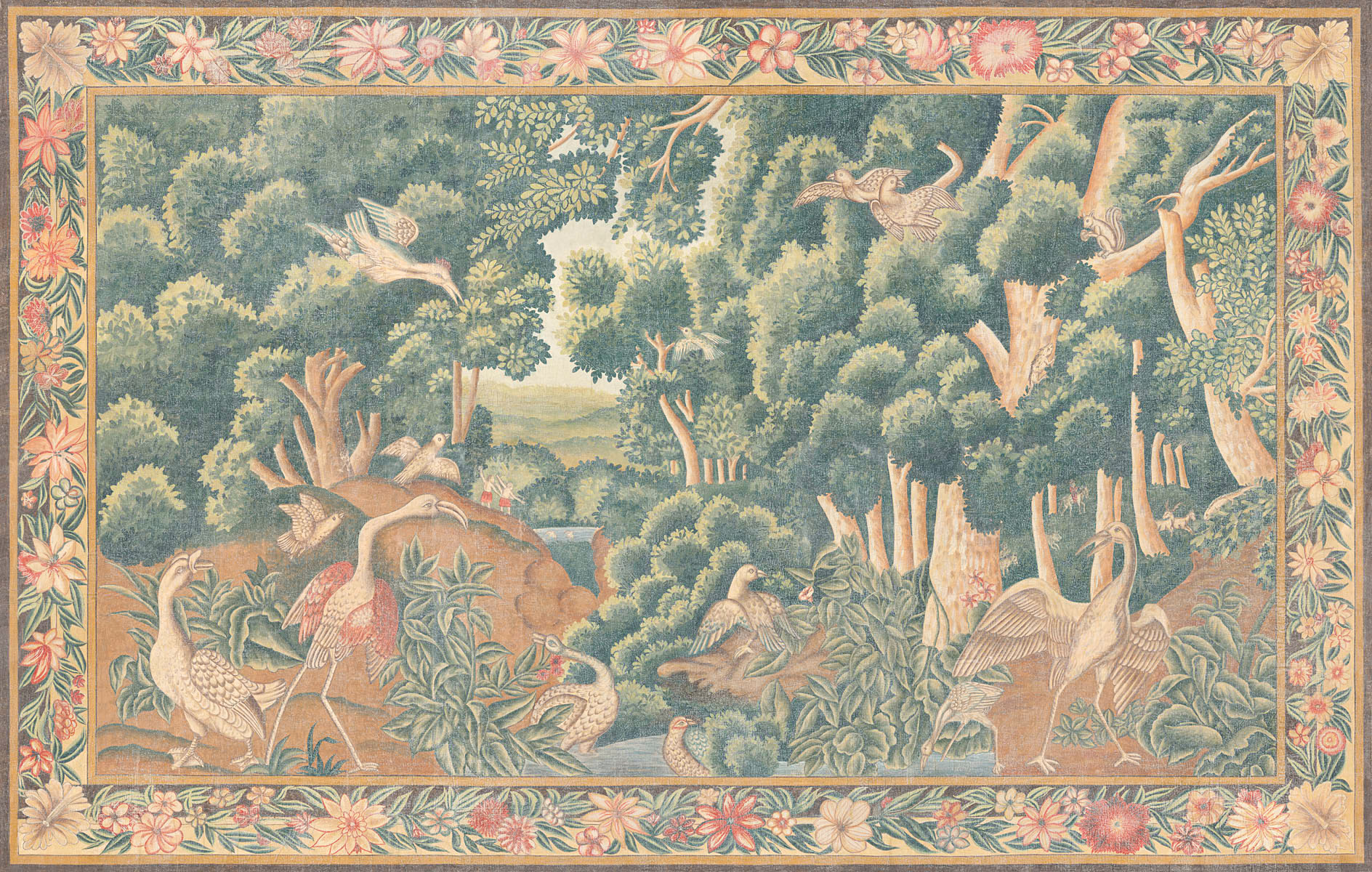 Английские обои Iksel,  коллекция Scenic & Architectural Wallpapers, артикулTapestriesTAP5