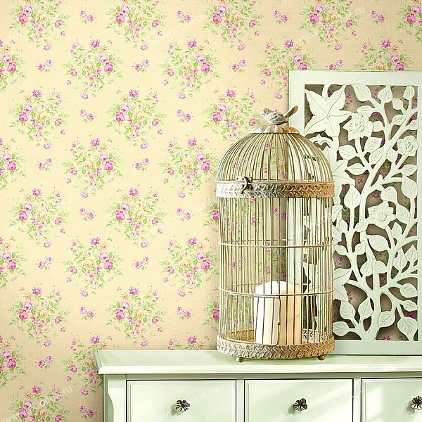 Американские обои Wallquest,  коллекция Springtime Cottage, артикулCG30703