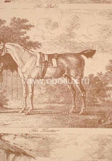 Английские обои Lewis & Wood,  коллекция Wide width Wallpapers, артикулLW9593