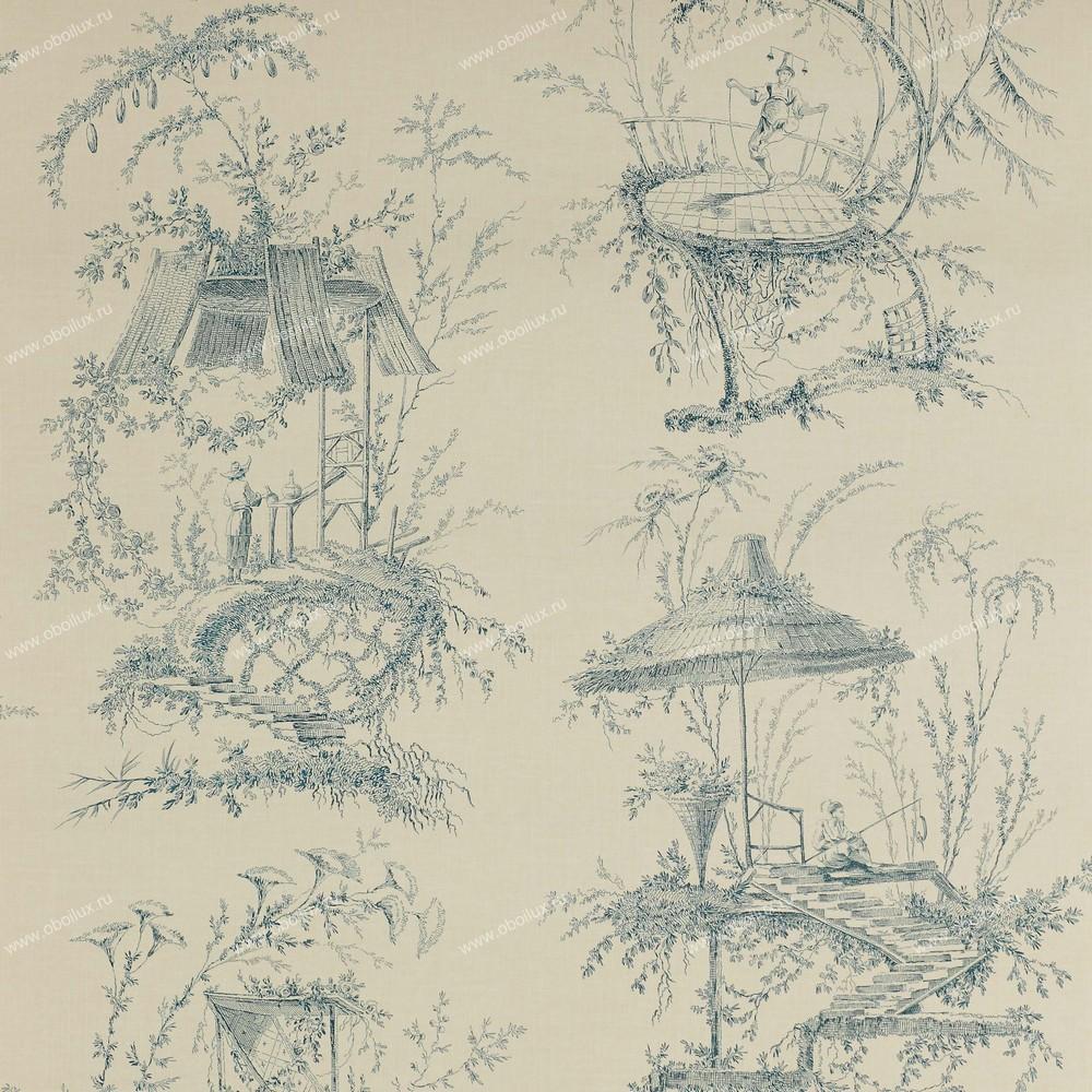 Французские обои Manuel Canovas,  коллекция Papiers Peints Trianon, артикул03070-04