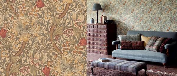 Английские обои Morris & Co,  коллекция Archive Wallpapers, артикул210400