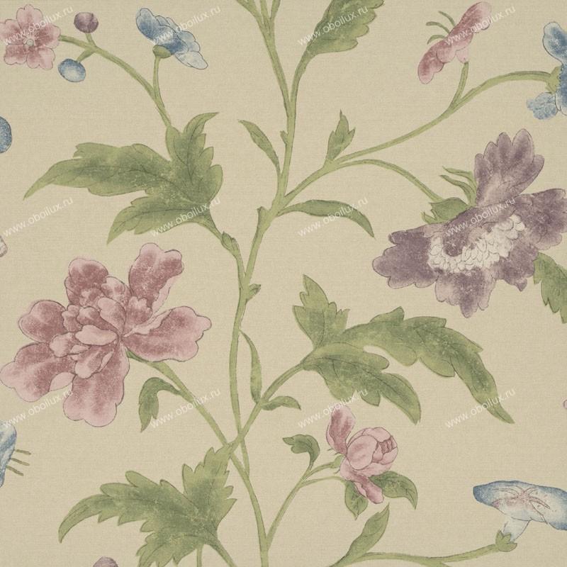 Английские обои Little Greene,  коллекция Oriental Wallpapers, артикул0275CHSAGEZ