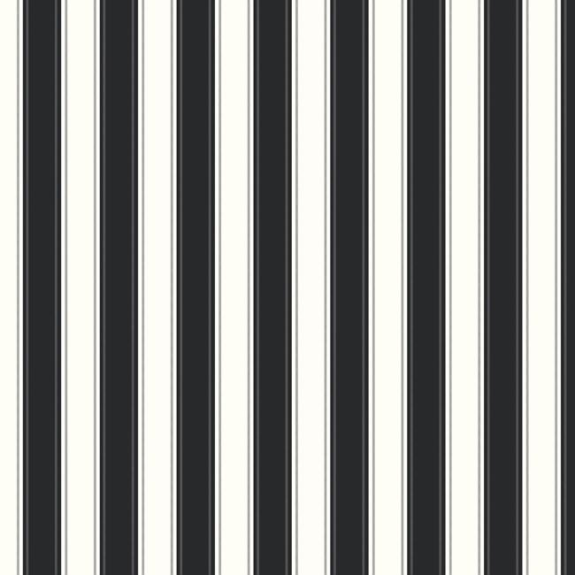 Американские обои York,  коллекция Ashford House - Black and White, артикулSA9159