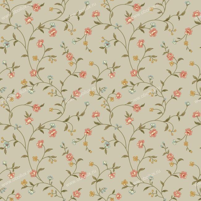 Американские обои York,  коллекция Waverly Small Prints, артикулER8190